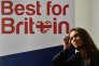 Gina Miller lors du lancement de son mouvement« Le meilleur pour la Grande-Bretagne», à Londres, le 26 avril.
