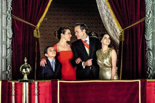 Héroïne d'Ingobernable, la comédienne Kate del Castillo (en rouge) a contribué au succès mondial de la série, grâce à sa relation nébuleuse avec le baron de la drogue Joaquín « El Chapo » Guzmán.