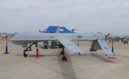 Le drone Predator utilisé par l'armée mais aussi par les services des douanes comme la police des frontières.