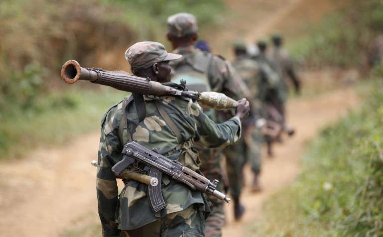 Une patrouille des FARDC, l'armée congolaise.