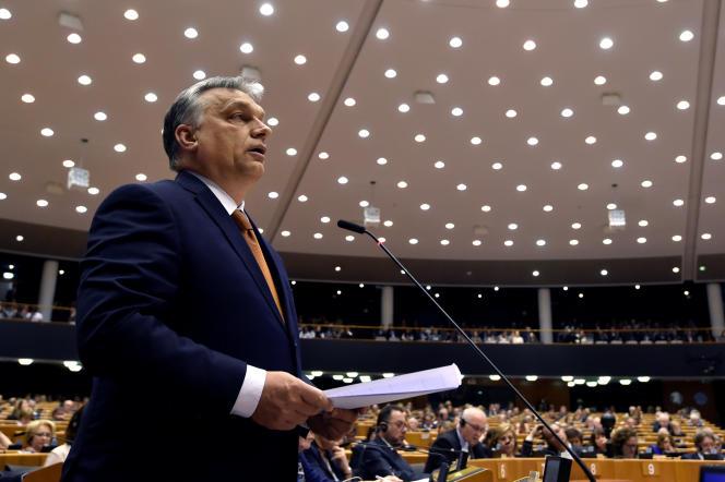 Le premier ministre hongrois, Viktor Orban, le 26 avril à Bruxelles.