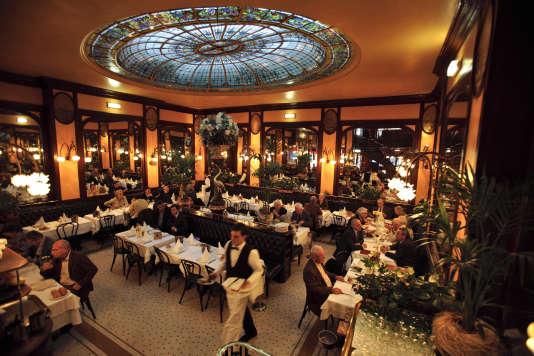 La brasserie Bofinger, à Paris.