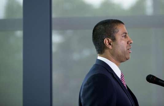 Ajit Pai a été nommé en janvier par Donald Trump à la tête de la Federal Communications Commission, le régulateur américain des télécoms.