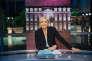 Marine Le Pen sur le plateau de l'émission de TF1 «Elysée 2017», le 25 avril.