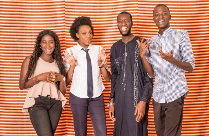 Etudiants à Dakar