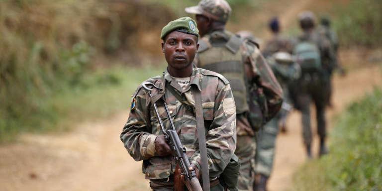 Des militaires congolais en 2013.