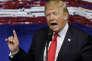 """« La volte-face de Trump sur la Chine est du même acabit que le """"recalibrage"""" de ses projets d'abrogation de l'Obamacare, de réforme du code fiscal, d'investissements d'infrastructure à grande échelle ou de renégociation de l'accord de libre-échange nord-américain (Alena). Dans chaque cas, ses slogans de campagne désinvoltes se sont heurtés à la dure réalité de diriger un pays """"pour de vrai"""" ». (Photo : Donald Trump à Kenosha (Wisconsin), le mardi 18 avril)."""