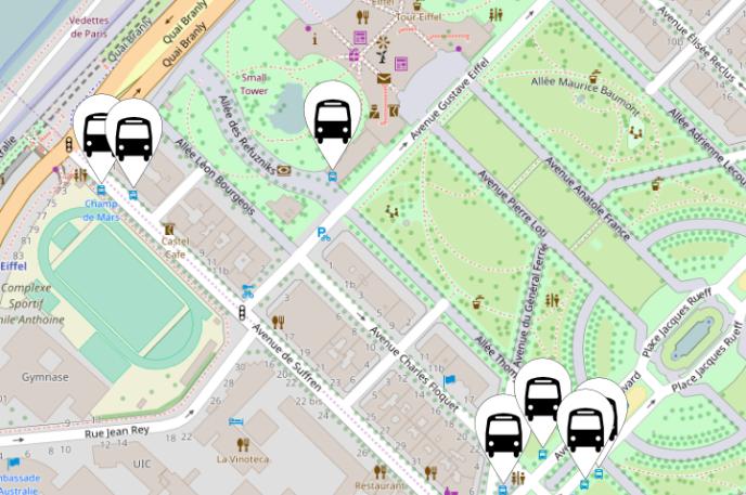L'application Jungle Bus mise sur le crowdsourcing pour collecter les données de transport, accessibles ensuite gratuitement dans la base de données OpenStreetMap.