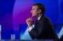 Emmanuel Macron sur le plateau de France 2 le 20 avril.