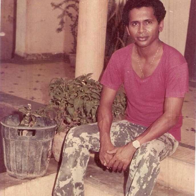 L'écrivain guinéen Williams Sassine dans les années 1980.