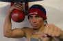 Le boxeur vénézuélien Edwin Valero en 2009.