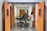 A l'hôpital de la Timone, à Marseille, en janvier.