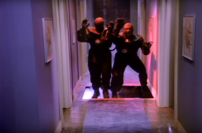 Les vampires de « Night Trap », plus ridicules qu'inquiétants.