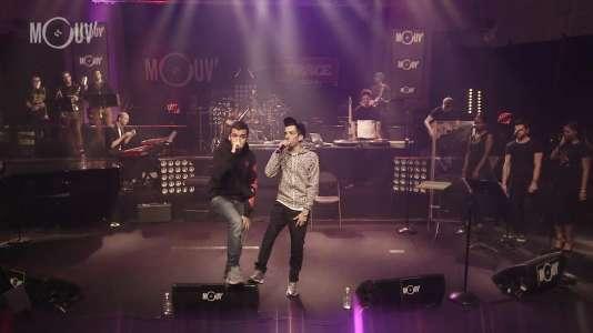 Bigflo & Oli sur le Mouv' Live Show