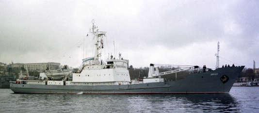 Les 78 membres d'équipage du« Liman» (photographié ici à Sébastopol en 1999) ont été secourus.