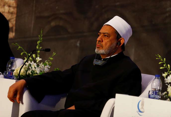 Ahmed Al-Tayeb, le 27 avril 2017 au Caire.