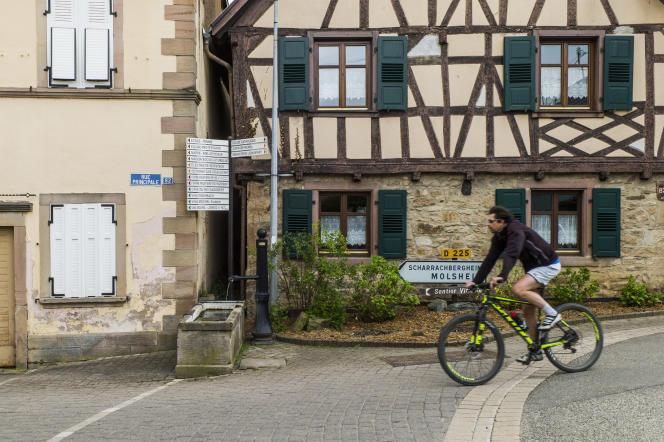 Le village de Traenheim (Bas-Rhin), le 25 avril 2017.