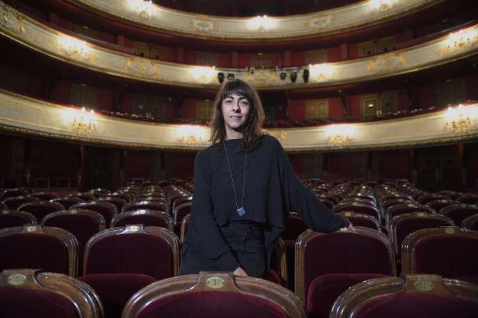 Christiane Jatahy à Paris, le 2 février 2017.