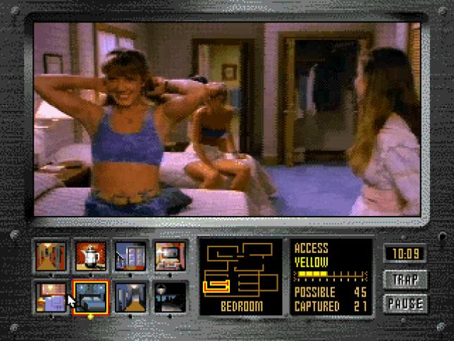 Les jeux du genre s'adjoignaient régulièrement les services de stars sur le retour : dans« Night Trap», le rôle est assuré par Dana Plato.