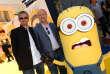 """Pierre Coffin et Chris Renaud lors de la première américaine de """"Moi, moche et méchant 2"""". Californie - 2013"""