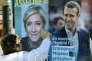 «Les deux candidats du second tour de la présidentielle semblent s'entendre sur le peu d'intérêt à accorder à la remise en question du processus de licenciement et à la transparence des entreprises dans ce contexte». (Photo : Un colleur d'affiches à Saint-Jean-de-Luz (Pyrénées-Atlantiques), le jeudi 27 avril).