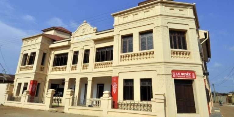 Le musée d'art contemporain de la Fondation Zinsou à Ouidah, au Bénin, en janvier 2014.