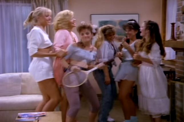 Filmé en 1987 et publié en 1992,« Night Trap» est un pur produit de son époque.