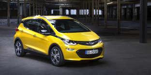 L'Ampera-e d'Opel se distingue par sa surface vitrée très généreuse.