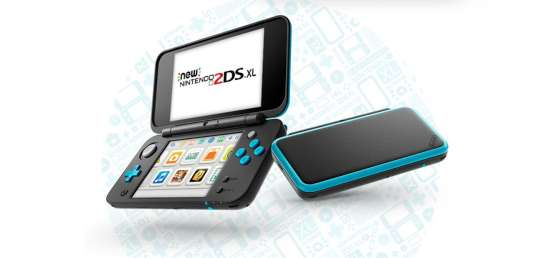 Photo de design de la New Nintendo 2DS XL.