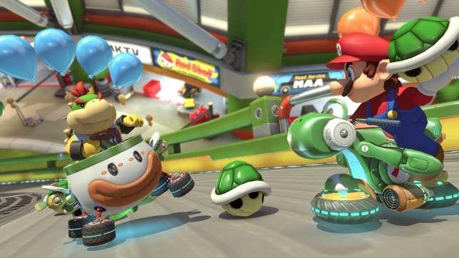 Mario Kart 8 Deluxe, le jeu qui ne consiste pas à se faire des amis.