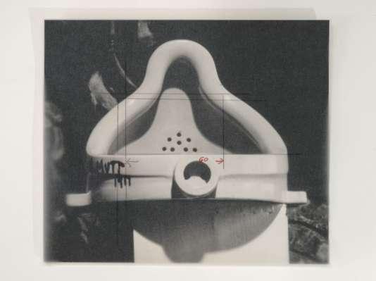 Sturtevant, «Duchamp Fontaine»(1973).