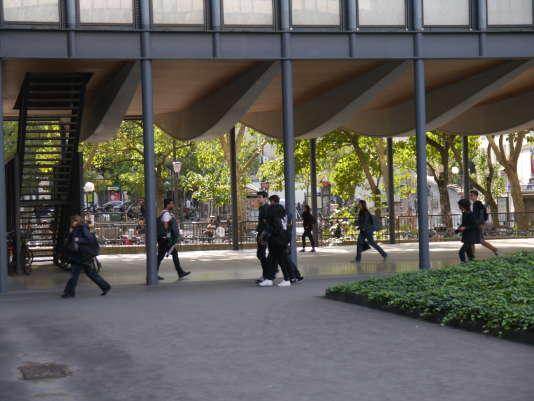 Le campus Jussieu, de l'Université Pierre-et-Marie-Curie à Paris, en septembre 2016.