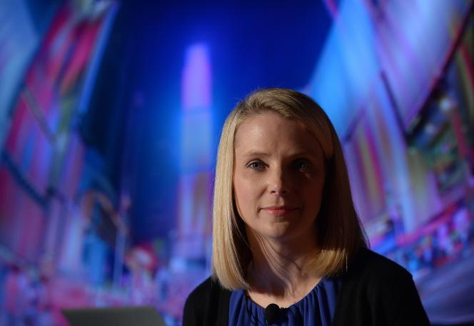 Marissa Mayer, la PDG de Yahoo!, en 2013.