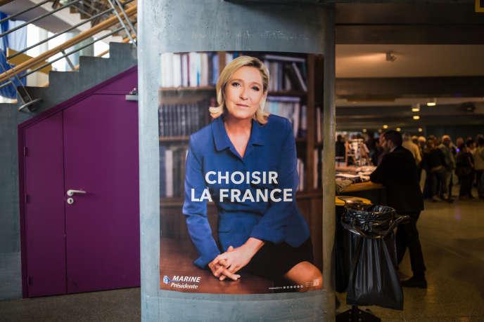 Meeting à Nice de la candidate au second tour de la présidentielle le 27 avril.