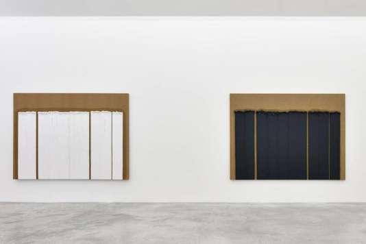 Ha Chong-hyun à la galerie Almine Rech à Paris, jusqu'au 3 juin.