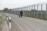 A la frontière entre la Hongrie et la Serbie, le 28 avril.