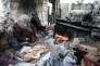 Un camp de réfugiés dans la bande de Gaza, le 19 avril.