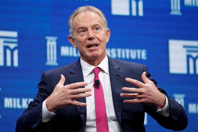 Tony Blair, le 3 mai 2016 à Beverly Hills.