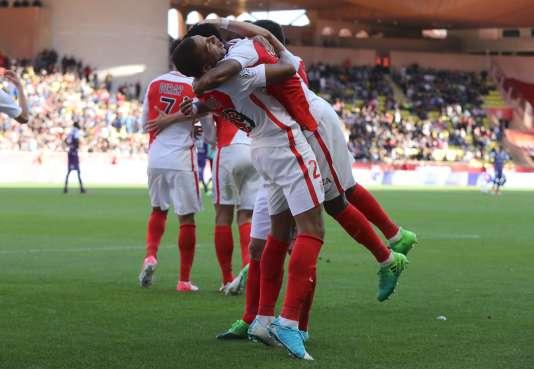 Les joueurs de l'AS Monaco, le 29 avril.