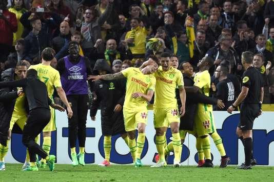 Le Nantais Emiliano Sala est le héros du match face à Lorient.