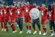 Les joueurs du Bayern fêtent leur nouveau titre de champion d'Allemagne.