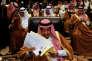 Le roi d'Arabie saoudite, Salman Ben Abdel Aziz, le 29 mars, lors du sommet de la Ligue arabe, en Jordanie.