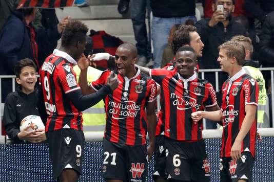Les Niçois ont battu le PSG dimanche en Ligue 1.