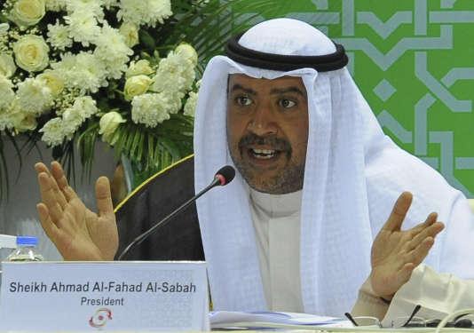 Le cheikh Ahmad Al-Fahad Al-Sabah a annoncé sa démission dimanche du conseil de la FIFA.