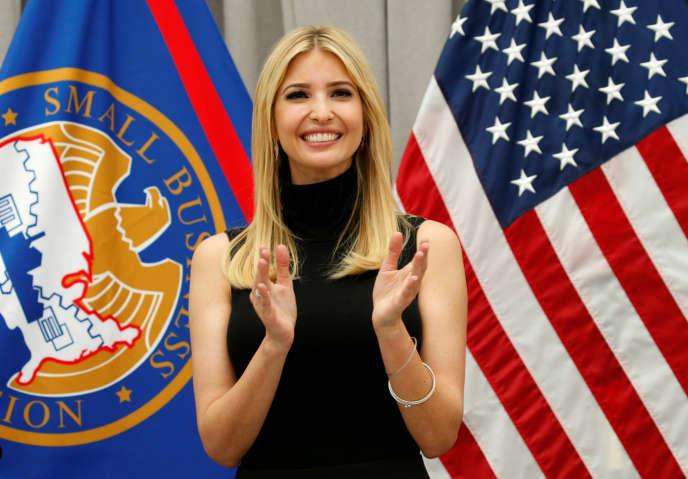 Ivanka Trump, le 1er mai 2017.