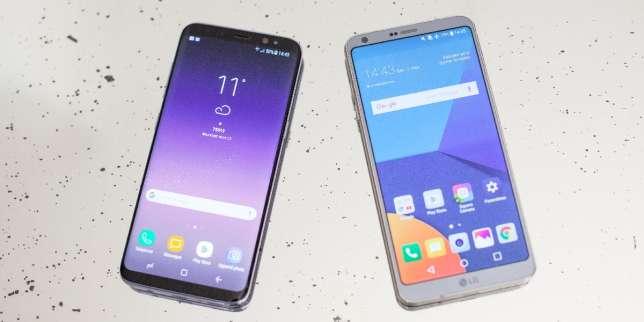 Samsung galaxy s8 contre lg g6 quel mobile cran choisir for Quel ecran choisir