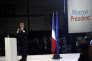 Emmanuel Macron le 1er mai lors d'un meeting.