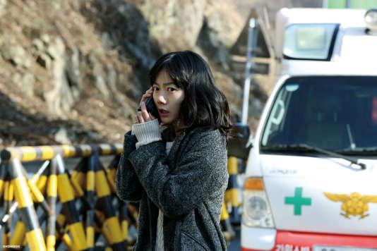 Doona Bae dans le film coréen deKim Seong-hun,« Tunnel» («Teo-neol»).