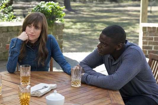 Allison Williams et Daniel Kaluuya dans le film américain de Jordan Peele,«Get Out».