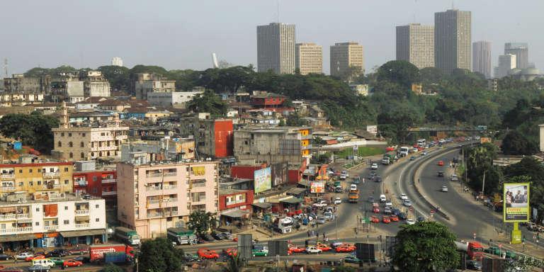 Abidjan, capitale de la Côte d'Ivoire, en 2017.